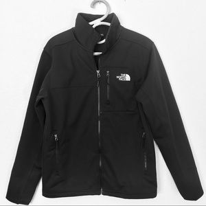 The North Face Black Windwall Jackets Small